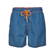 Ramatuelle Swimming Shorts Lotus Effect, Blue - The lotus effect simply lets water drip off your new swimming shorts. Faster drying with a trick from nature.