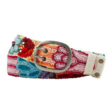 Smitten Peruvian Embroidered Belt - These hand-embroidered unique pieces from Peru are rarities.