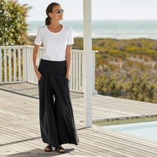 Elisa F. Ibiza Culottes - The real Ibiza trousers: Once a classic in the 70s hippie style. Nowadays the star of the wide leg trends.