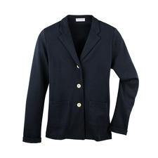 T-Shirt Blazer - Smart as a blazer. Light and airy as a T-shirt. The 265g (9.3 oz) blazer made of fine, Italian cotton jersey.