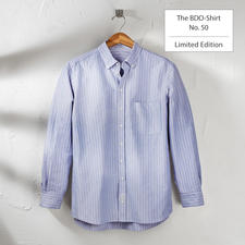 The BDO Shirt, Limited Edition No.50, Slim Fit - Meet a good old friend. And forget that shirts always need ironing.
