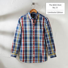The BDO-Shirt, Limited Edition No. 51, Slim Fit - Meet a good old friend. And forget that shirts always need ironing.