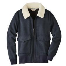 Aigle Women's Fleece Bomber Jacket - Wonderfully warm and soft – yet pleasantly lightweight.