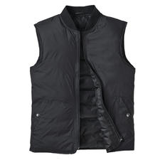 Recycled Down Waistcoat - Your versatile companion: The slim waistcoat made from recycled down. Plenty of warmth. Little weight.