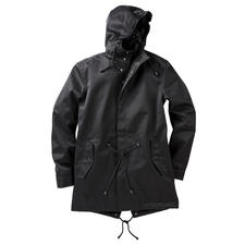 Waterproof Cotton Parka - The natural look of cotton. The features of hi-tech fabric. Windproof. Waterproof. Breathable.