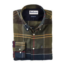 Barbour Light Flannel Tartan Shirt - Signature Barbour tartan on incomparably lightweight flannel.