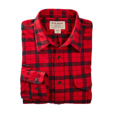 Filson Alaska Guide Shirt, Red/Black - Cult status in the USA for a very long time – difficult to find in this country. By Filson.