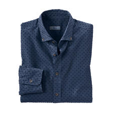 Ingram 3D Dotted Shirt - Elaborately made following the shearing process. From Italian shirt specialist Ingram.