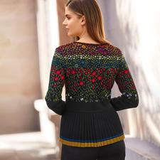 IVKO Pleated Knit Jacket