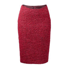 Bouclé Pencil Skirt - A classic with a modern look: Bouclé pencil skirt in the trend colour pink.