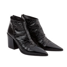 Ducanero Patent Ankle Boots - The popular ankle boots – with an exceptionally chic and elegant look. By Ducanero.