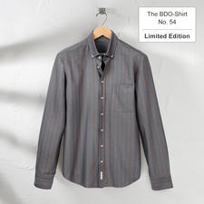The BDO Shirt, Limited Edition No. 54 - Meet a good old friend. And forget that shirts always need ironing.