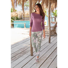 RAPHAELA-BY-BRAX Magic Waistband Trousers, Wild Flowers - Probably the most comfortable trousers you'll ever own: The Magic Waistband trousers by RAPHAELA-BY-BRAX.