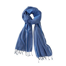 Handwoven Summer Scarf - 100% handwoven, 100% chemical free and weighs just 110g (3.9 oz).