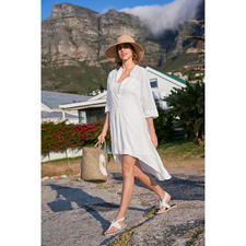 Kultfrau Linen Tunic - Tunic, beach dress, trend piece and long-term love at the same time.