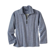Saint James Fisherman's Shirt - Fisherman's Vareuse shirt: The Breton original in the up-to-date trend for workwear.