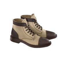 Pezzol Workwear Boots - Hit the right note with the workwear trend: Safety boots as worn by platform workers.