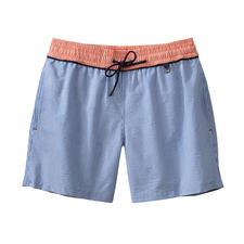 HOM Seersucker Swimming Shorts - In the water, they do not stick to your skin. In the air, they are quick to dry again.