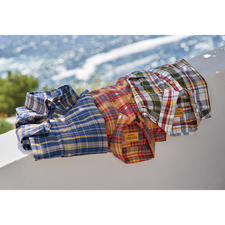 OMTC Checked Madras Shirt - The original Madras shirt – traditionally woven by hand in India. By OMTC.