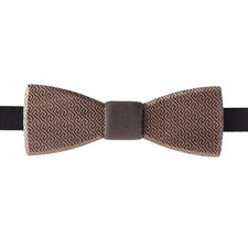 Bewooden Wooden Bow Tie - Sustainable wood and an elaborate pattern make this bow tie a cool eye-catcher.