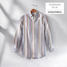 The BDO-Shirt, Limited Edition No. 56 - Meet a good old friend. And forget that shirts always need ironing.