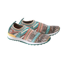 Ivko Knitted Sneakers - The elaborate knitted sneaker for the ethnic trend. Rare jacquard knitted art from Serbia. By Ivko.