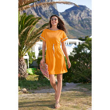 Pluto Fine Towelling Dress - Elegant fine towelling dress for the beach, spa, at home... Incredibly versatile and wonderfully comfortable.