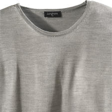 Round Neck, Grey