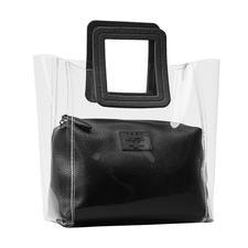 Ilse Jacobsen Transparent Bag - Danish design with a trendy look: Transparent bag by Ilse Jacobsen.