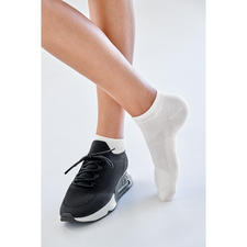 Sneaker socks, Women, White