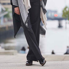 TWINSET Punto Milano Wide Leg Trousers - Fashionable wide leg. On-trend men's style. Fine Punto Milano jersey. By TWINSET.