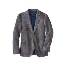 Houndstooth Bouclé Sports Jacket - Modern houndstooth sports jacket made of exclusive bouclé yarn.