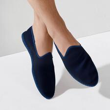 Men's velvet slipper - The hand-sewn made in Italy velvet slipper: Elegant. Comfortable. Yet so hard to find.