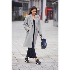 Pluto Fleece coat - Fleece is rarely this elegant and fashionable. Uncomplicated coat by Pluto/Belgium, since 1976.