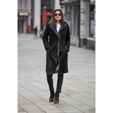 Wunderfell Merino Lambskin Coat - One of only 13 pieces from the small, fine collection of Wunderfell, Munich.