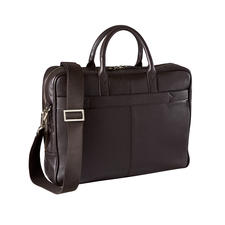 L'Aiglon Briefcase - Elegant cow nappa leather. Well-known design. Reasonably priced. The briefcase by L'Aiglon, Paris.