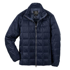 Taion Men's Down Jacket - Warmer and yet lighter – thanks to rare, high-quality down insulation.