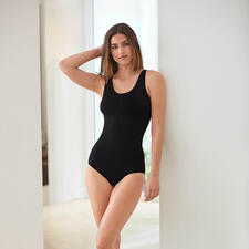 Seamless Fine Rib Top or Briefs - The seamless lingerie cleverly creates a visually slimmer figure.