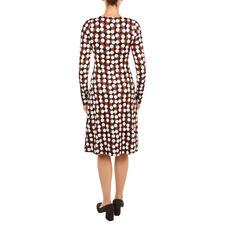 KD-Klaus Dilkrath Jersey Dress Chocdot
