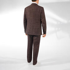 Versatile Suit With Prince-of-Wales Check