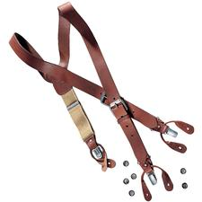 Leather Braces - Real leather braces. Handmade in England.