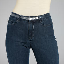 "Invisible Belt ""isABelt®"" - This belt doesn't show under tight-fitting tops. Holds perfectly. Comfy fit. Great figure."