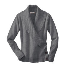 Fisherman Wrap Jumper - A classic becomes a trendy evergreen. The wrap jumper by Fisherman out of Ireland.