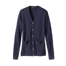 Phil Petter Knitted Linen Cardigan - In summer, it is more pleasant, smarter and more beautiful than any tailored jacket.