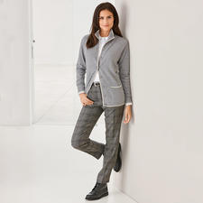Two-Ply Cashmere Cardie - Affordable luxury: The 2-ply cardigan in Mongolian cashmere.