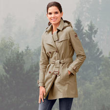 Aigle Trench Coat - A classic trench coat, just perfect to brave extreme weather conditions. Wind & waterproof. Warm. Breathable.