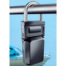 """This """"padlock"""" will not reveal its secret that easily: Up to 5 keys can be kept inside it, safe from thieves."""