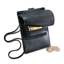 Leather Neck Wallet - More than just a neck wallet.