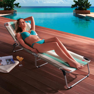 Aluminium 3-Legged Lounger Lighter. Sturdier. Tougher. In a beautiful, timeless Italian design.