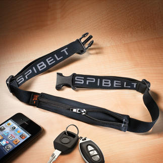 SPIbelt™ World novelty from the US: SPIbelt™, the ingenious expandable bag belt.